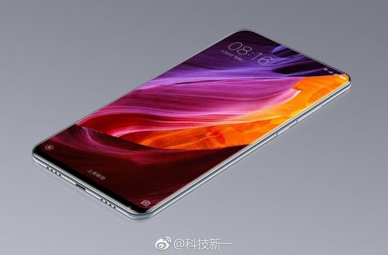 Xiaomi mi mix 2 Weibo