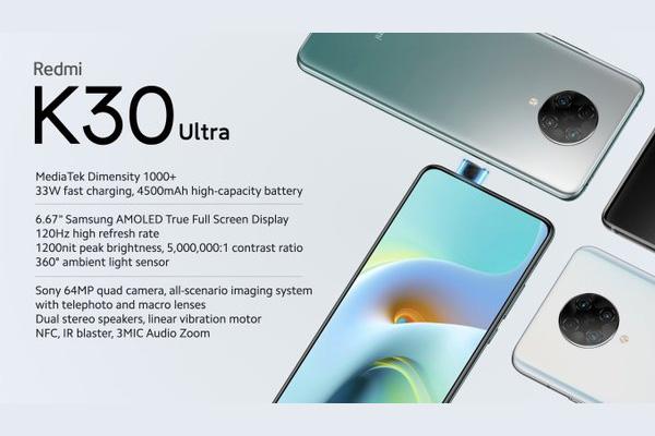 Xiaomi redmi k 30 ultra