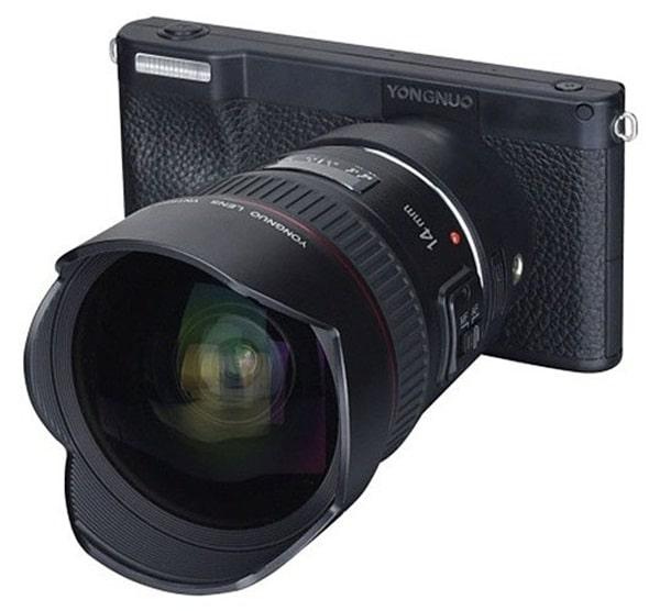 Yongnuo YN450 4K Frente Lentes Canon
