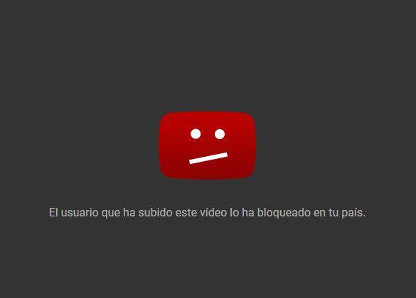 YouTube Bloqueo Portada