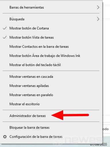 administrador de tareas windows 10 1