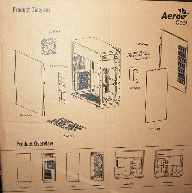 aerocool glo caja