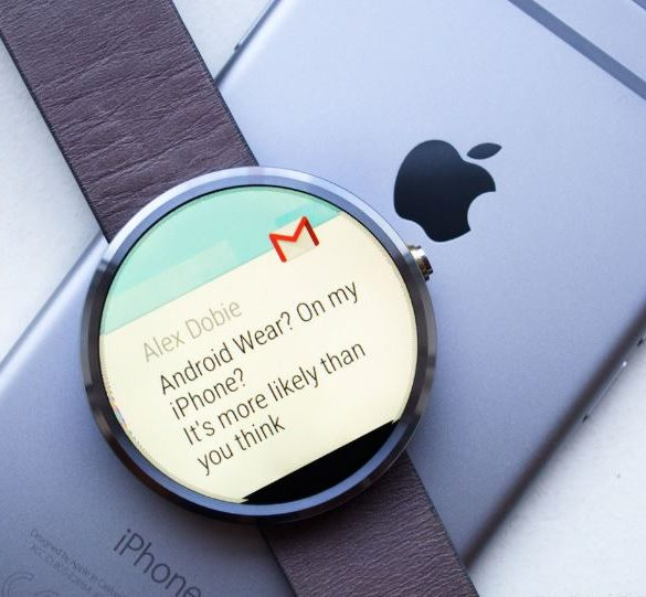 android wear y iphone ya son uno