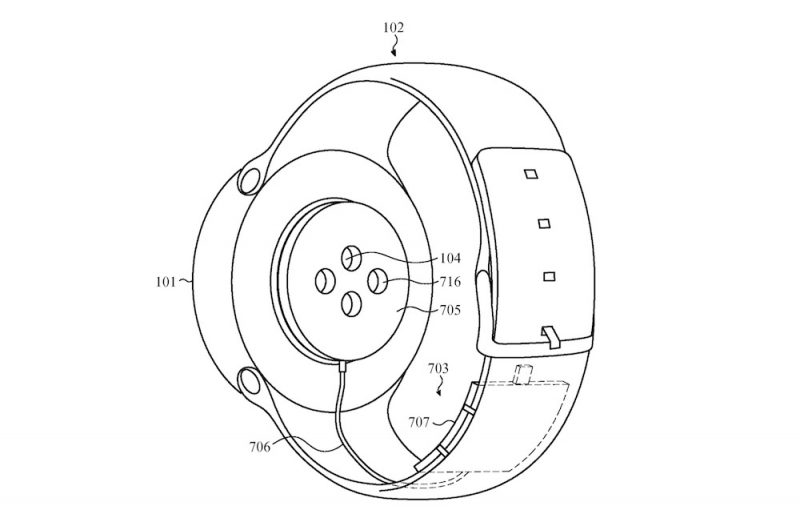 apple desarrolla nueva idea apple watch con cargador