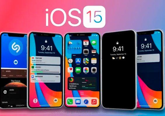 apple lanza ios 15 y ipados 15 beta publica 4