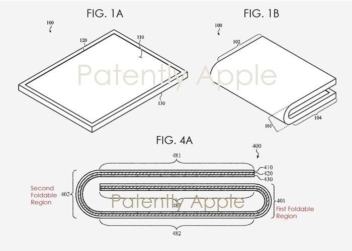 Apple Obtiene Patente iPhone Plegable
