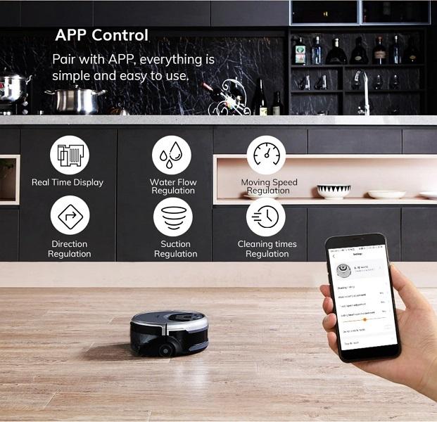 aspirador ILIFE W455 apps