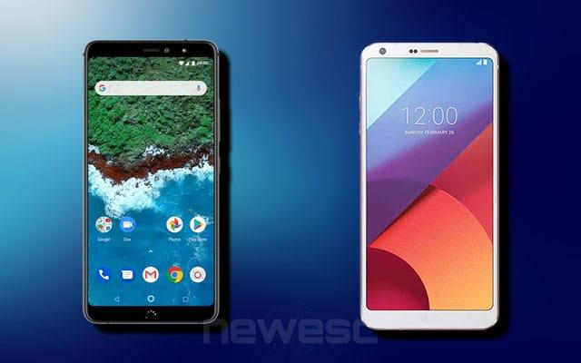 bq Aquaris X2 Pro vs LG G6