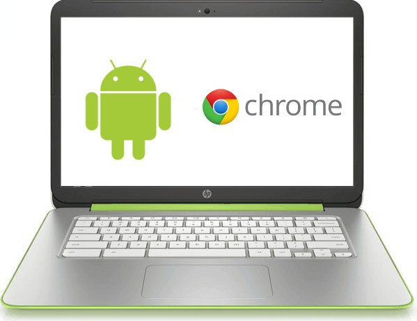 chromebook con android