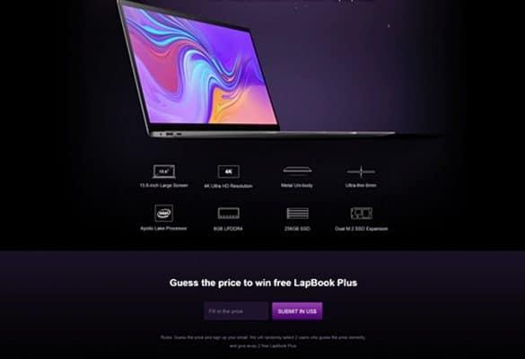 Adivina Precio Gana Chuwi LapBook Plus