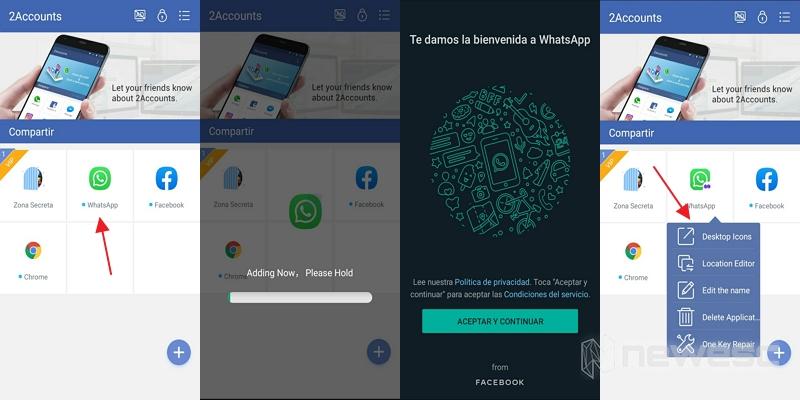 clonar whatsapp 2accounts