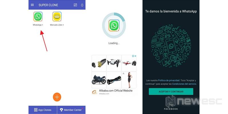 clonar whatsapp super clone