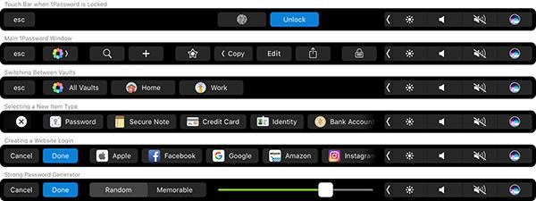 como hacer capturas de pantalla - mac touch bar