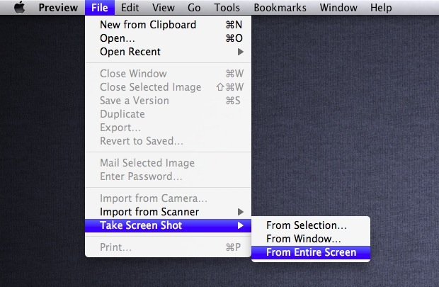 como hacer capturas de pantalla - mac2