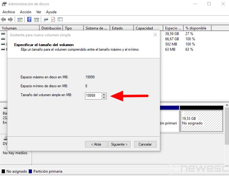 como particionar disco duro windows 7
