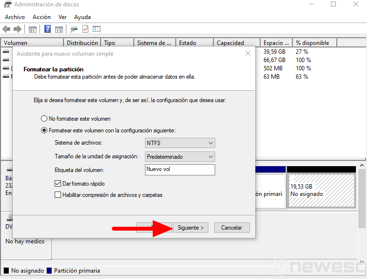 como particionar disco duro windows 8