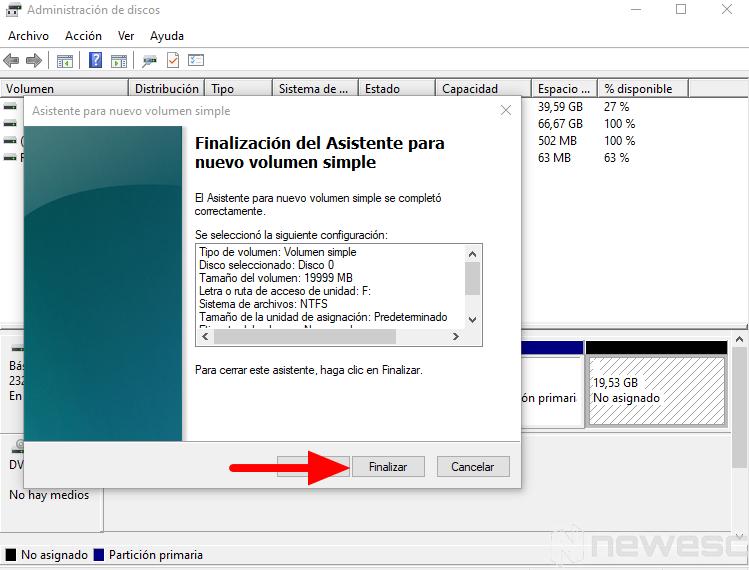 como particionar disco duro windows 9