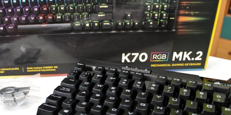 corsair k70 mk.2 destacada