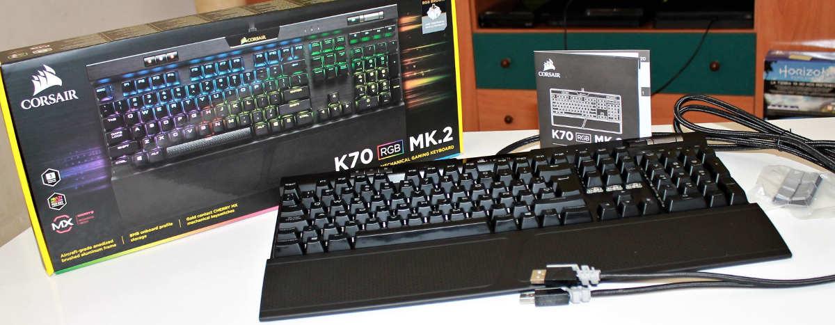 corsair k70 mk.2 unboxing 1