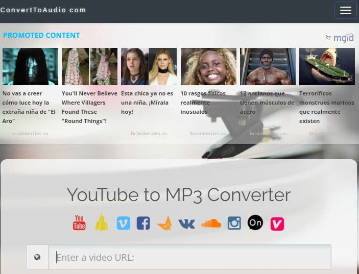 descargar videos youtube sin programas con convertaudio