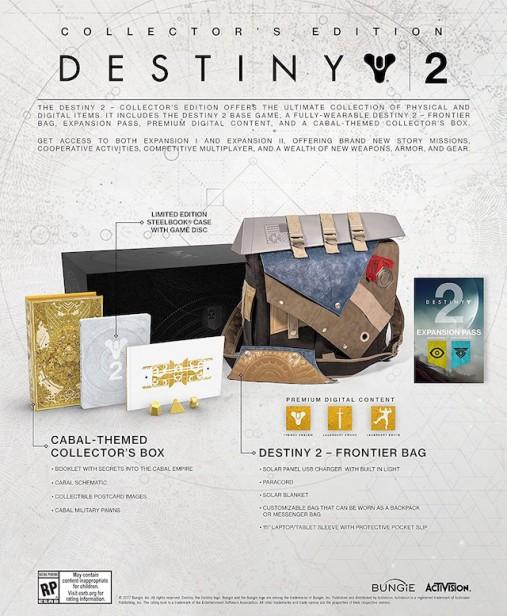 destiny edicion limitada