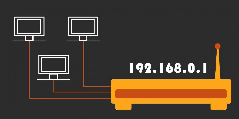 dirección ip router portada
