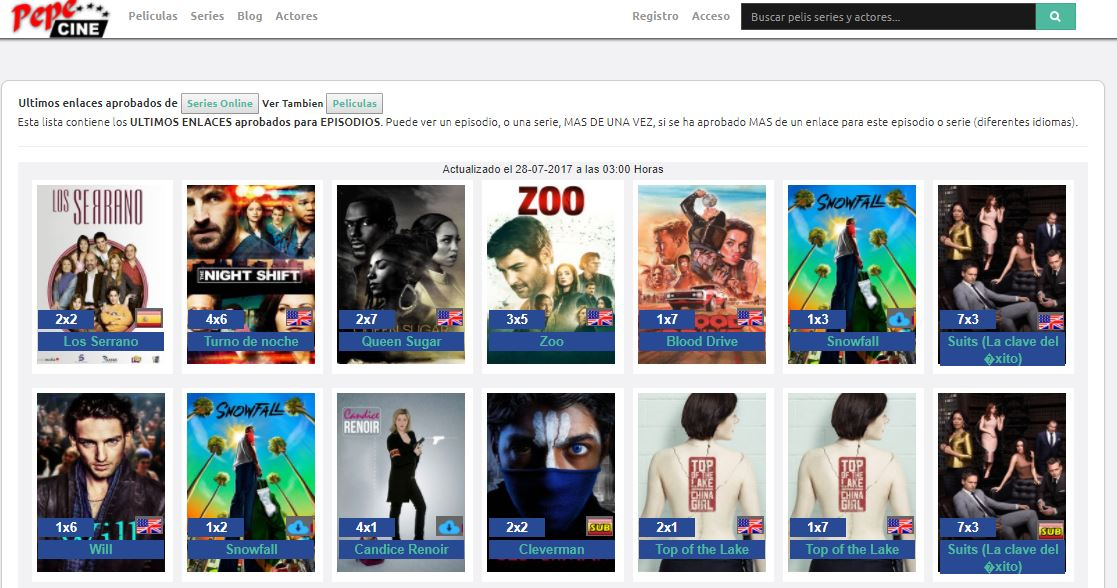donde ver series online gratis - pepecine