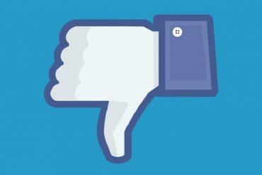 downvote de facebook