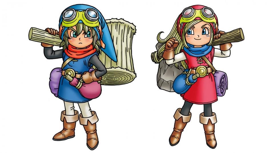 Dragon Quest Builders Characters