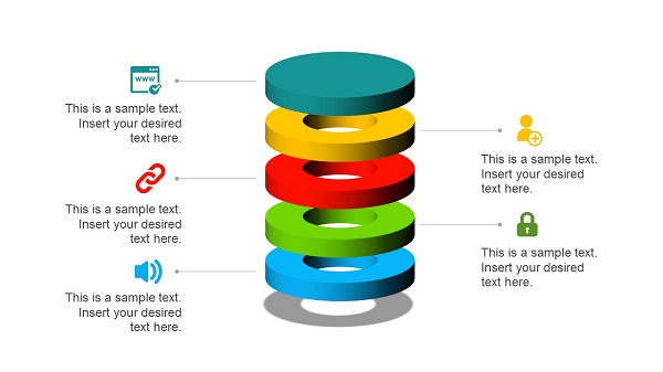 editable infographic plantilla PowerPoint