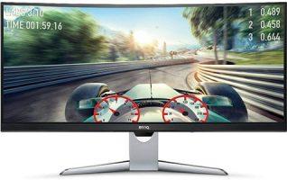 BenQ EX3501R monitor curvo