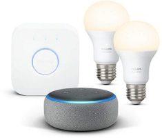 Echo Dot + Philips Hue White Kit