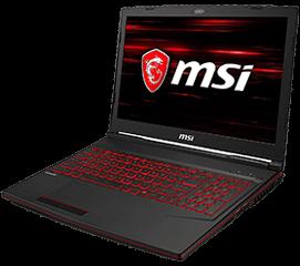Portátil gaming MSI GL63 8RD-014XES