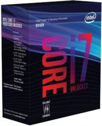 Procesador gaming gama alta Intel Core i7-8700K