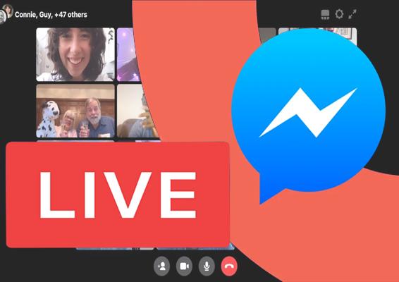 facebook messenger live