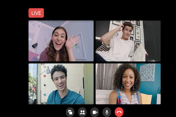 facebook messenger rooms live