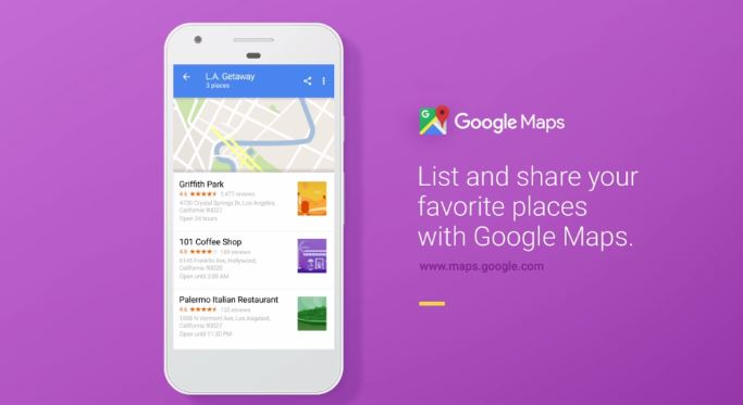favoritos en google maps 2