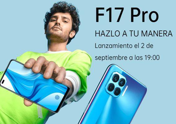 fecha de lanzamiento Oppo f 17 pro
