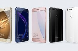 honor 8 colores