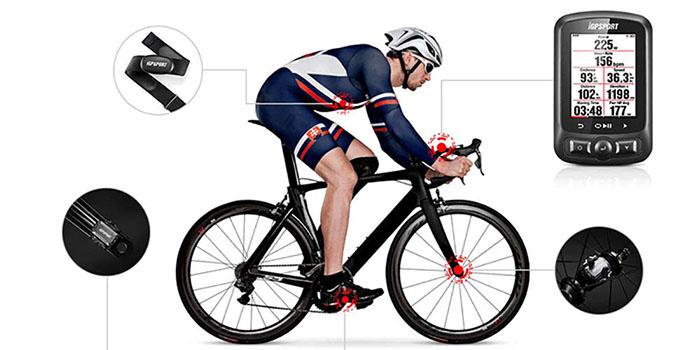 iGPSPORT - iGS618 GPS Bici