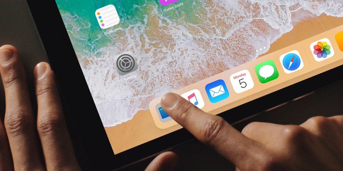 iOS 11 en el iPad