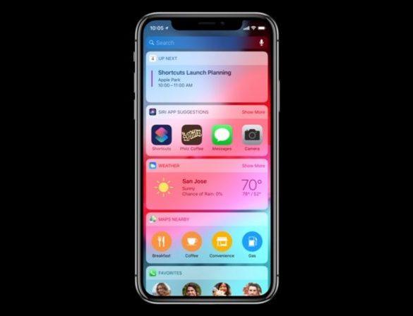 iOS 12 Siri Atajos