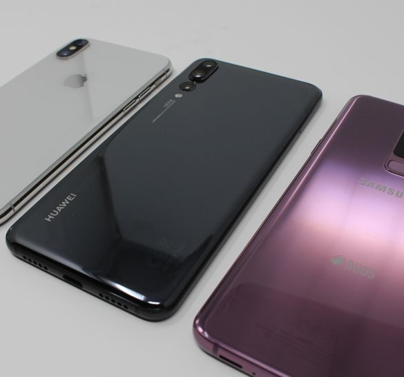 iPhone X vs Huawei P20 Pro vs Galaxy S9 Plus
