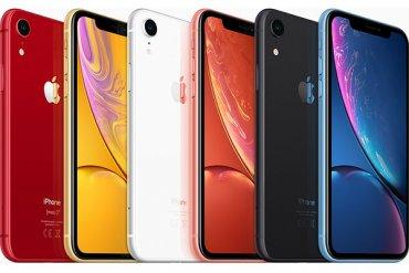 iPhone XR Diseño varios colores