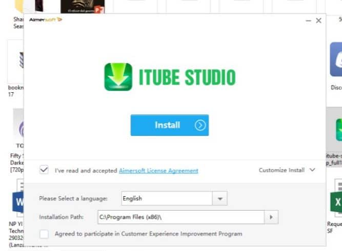 iTube 5 - como descargar videos de facebook