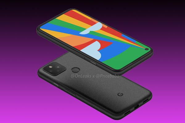imagenes del google pixel 5 4