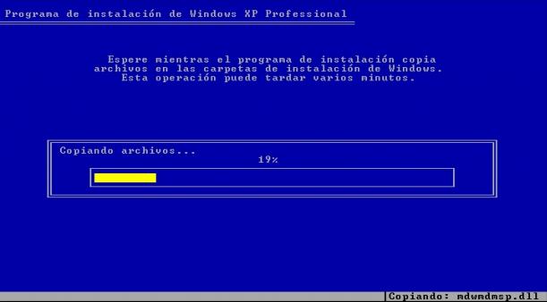 instalar windows xp 4