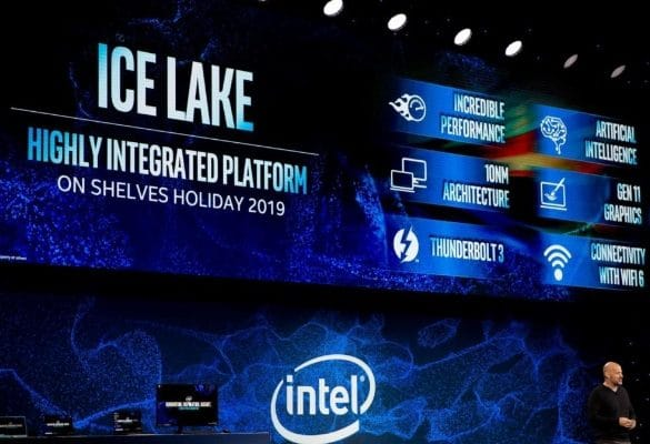 Intel Compara Ice Lake Ryzen 7 AMD