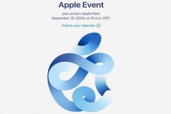 invitación al evento apple el 15 de septiembre
