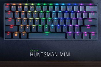 keyboards razer hunstman mini